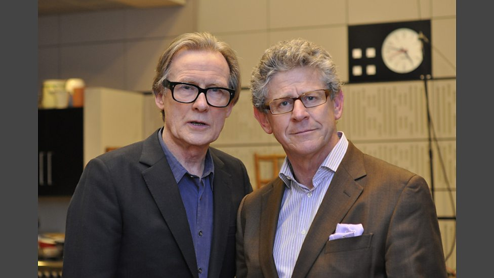 Jon Glover and Bill Nighy